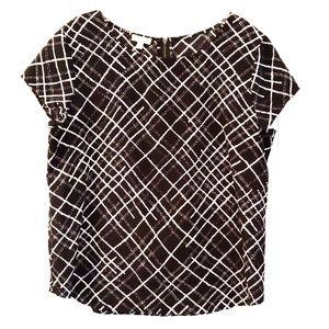 Talbots short sleeve blouse